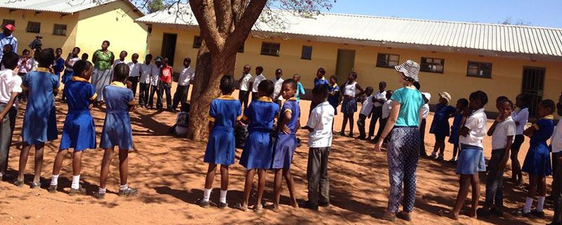 Childrens Pact Club At Mmanoko Primary School