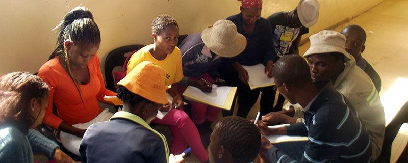 Youth Club In Training in Mabutsane